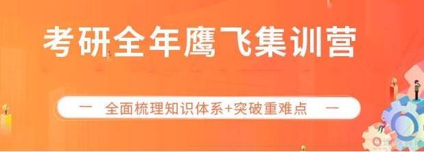 2022考研全年鹰飞集训营(公共课协议班)