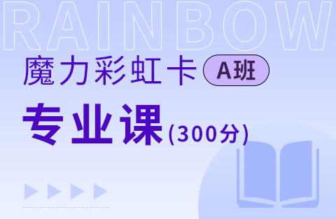 2022考研魔力彩虹卡A系列专业课(300分)